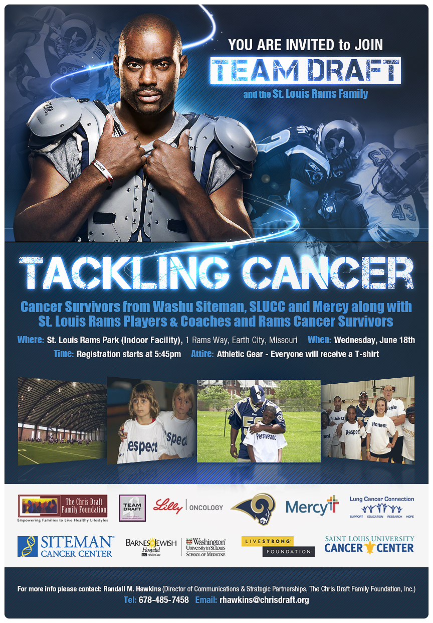 Team Draft Tackles Cancer With The St. Louis Rams