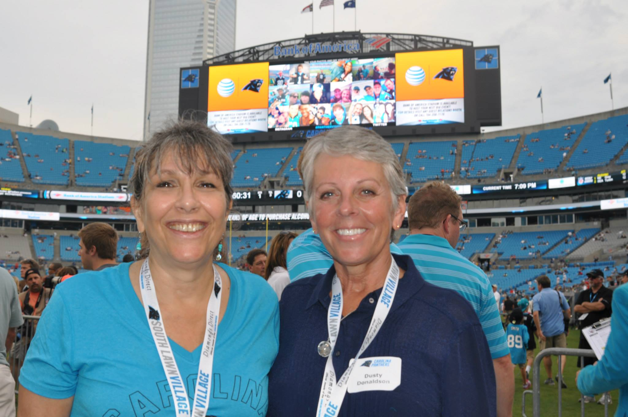 A Survivor at Every Stadium: Carolina Panthers
