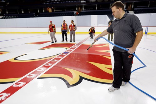 A Survivor at Every Rink: Calgary Flames