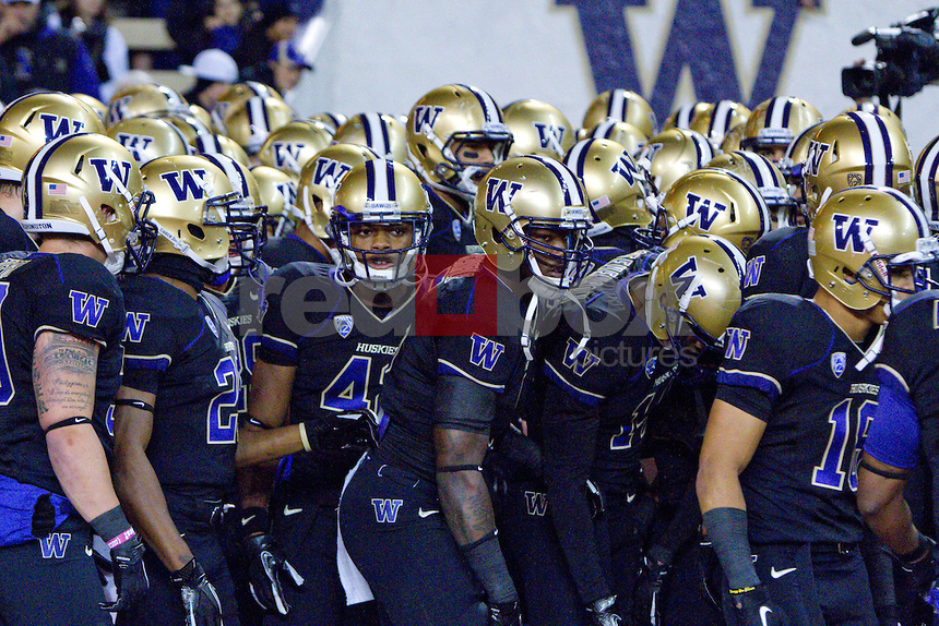 A Survivor at Every College Stadium: Washington Huskies