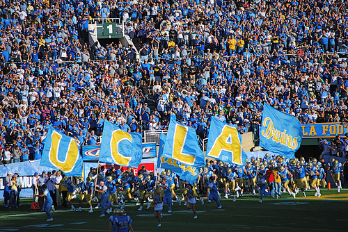 A Survivor at Every College Stadium: UCLA Bruins