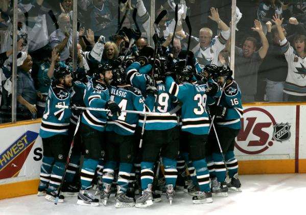 A Survivor at Every Rink: San Jose Sharks