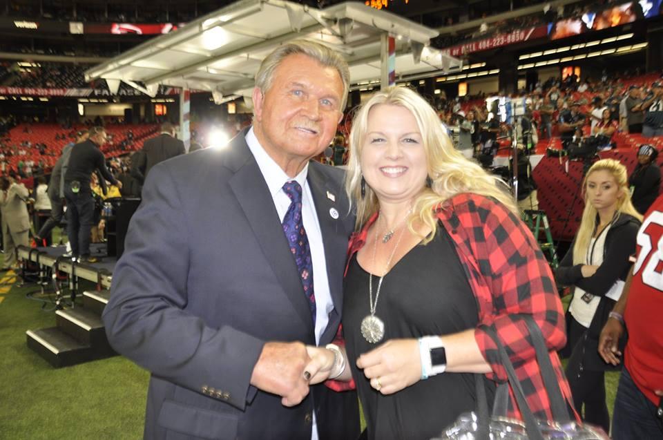 A Survivor at Every Stadium: Atlanta Falcons #RiseUp