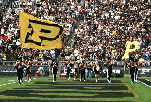 A Survivor at Every College Stadium: Purdue Boilermakers