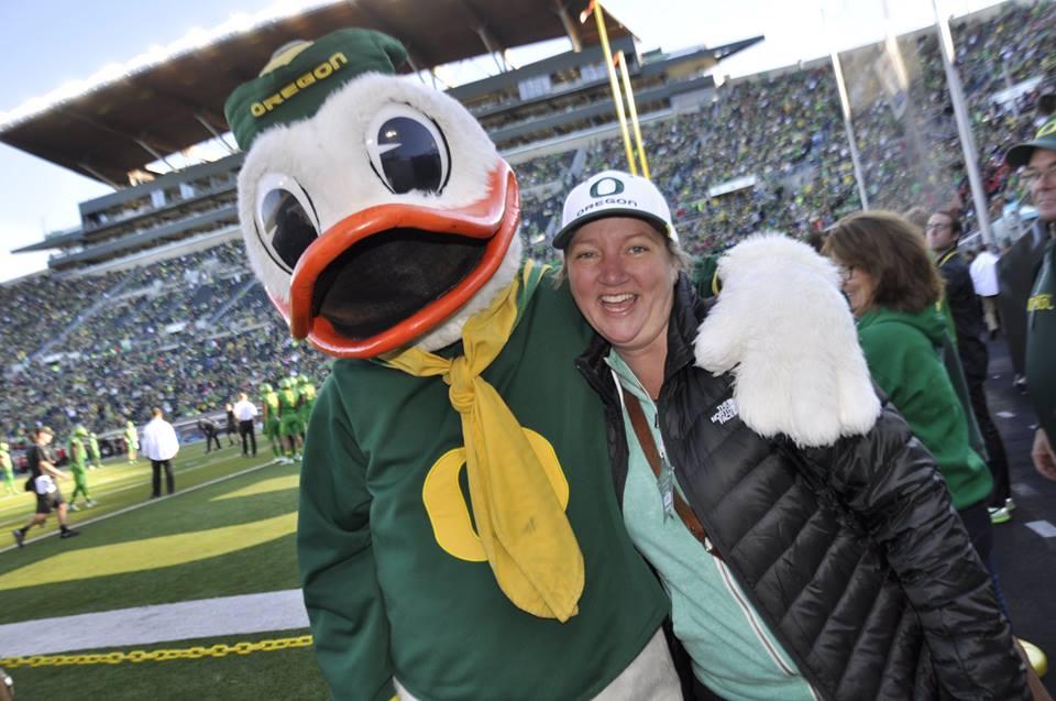 A Survivor at Every College Stadium: Oregon Ducks