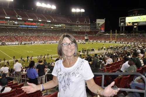 A Surivor at Every College Stadium: University of South Florida