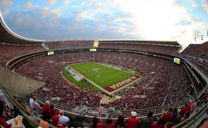 A Survivor at Every College Stadium: Alabama Crimson Tide