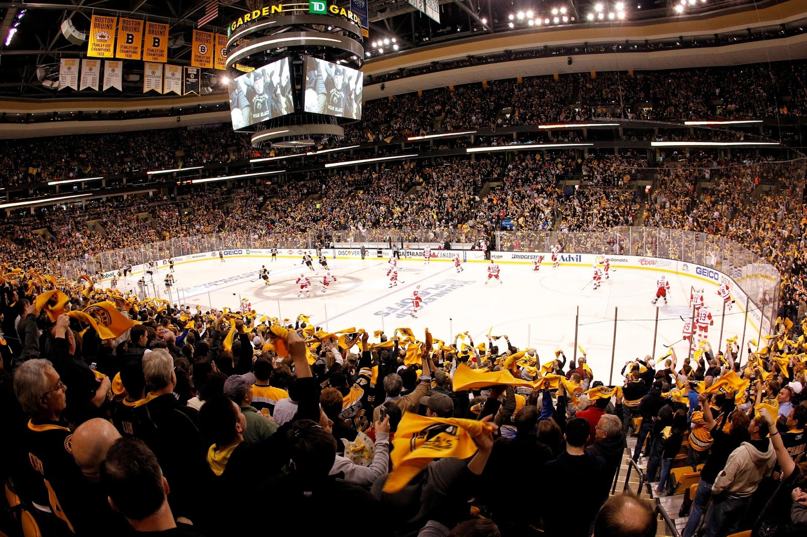 A Survivor at Every Rink: Boston Bruins