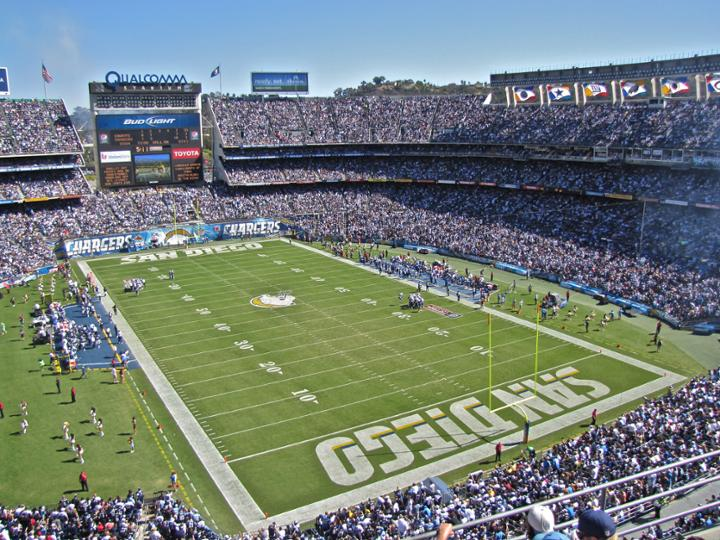 A Survivor at Every Stadium: San Diego Chargers