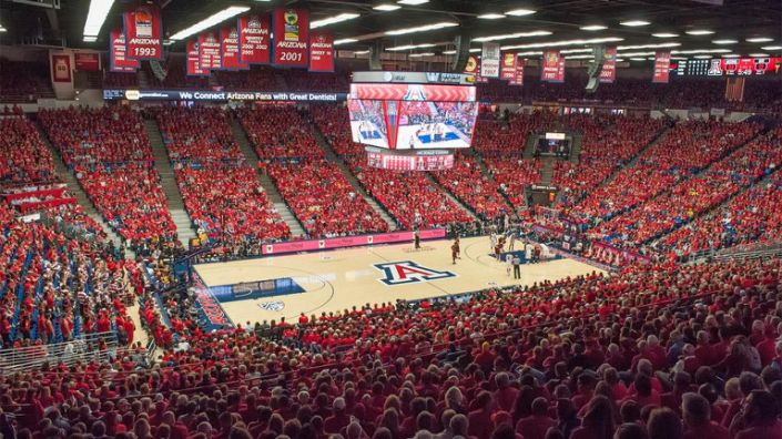 A Survivor at Every College Arena: University of Arizona