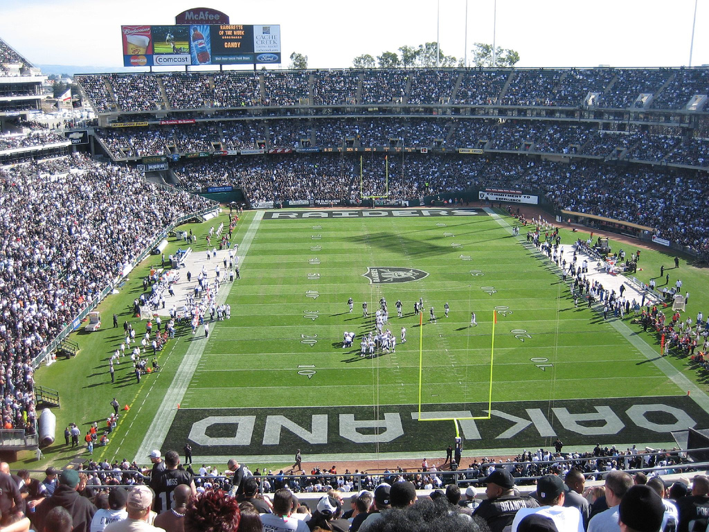 Survivor at Every Stadium: Oakland Raiders
