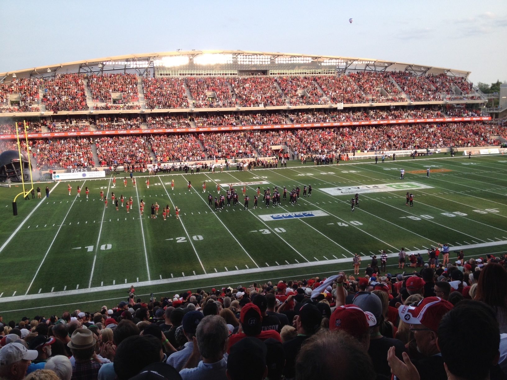 Survivor at Every CFL Stadium: Ottawa Red Blacks