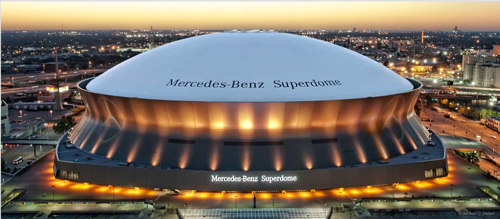 Survivor at Every Stadium: New Orleans Saints