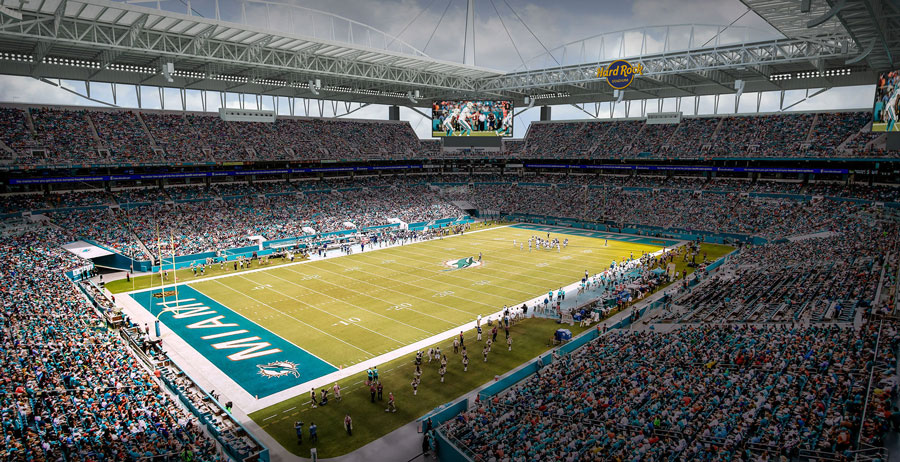 Survivor at Every Stadium: Miami Dolphins