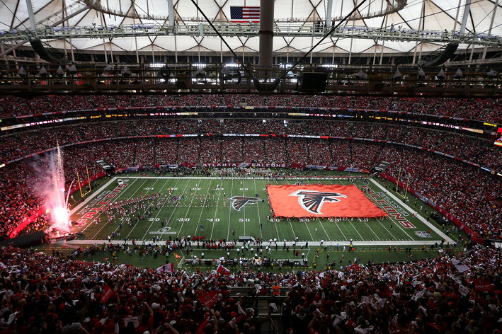 Survivor at Every Stadium: Atlanta Falcons