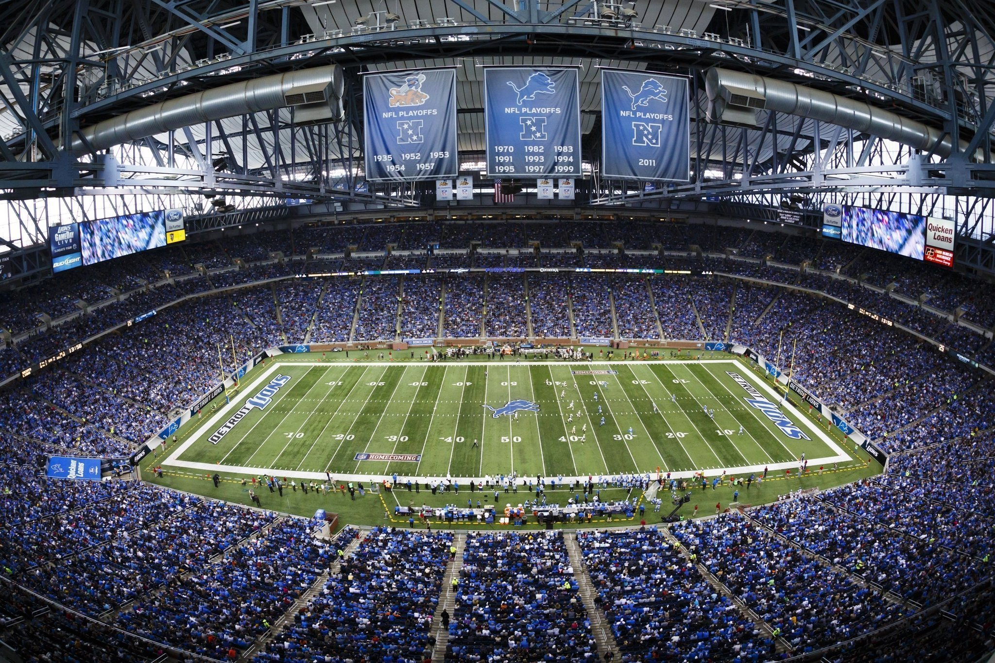 Survivor at Every Stadium: Detroit Lions