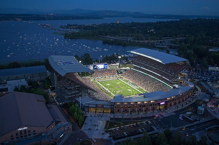 Survivor at Every College Stadium: University of Washington Huskies