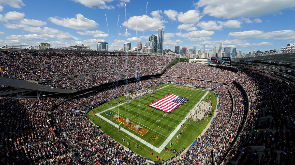 Survivor at Every Stadium: Chicago Bears #NFLPlayoffs