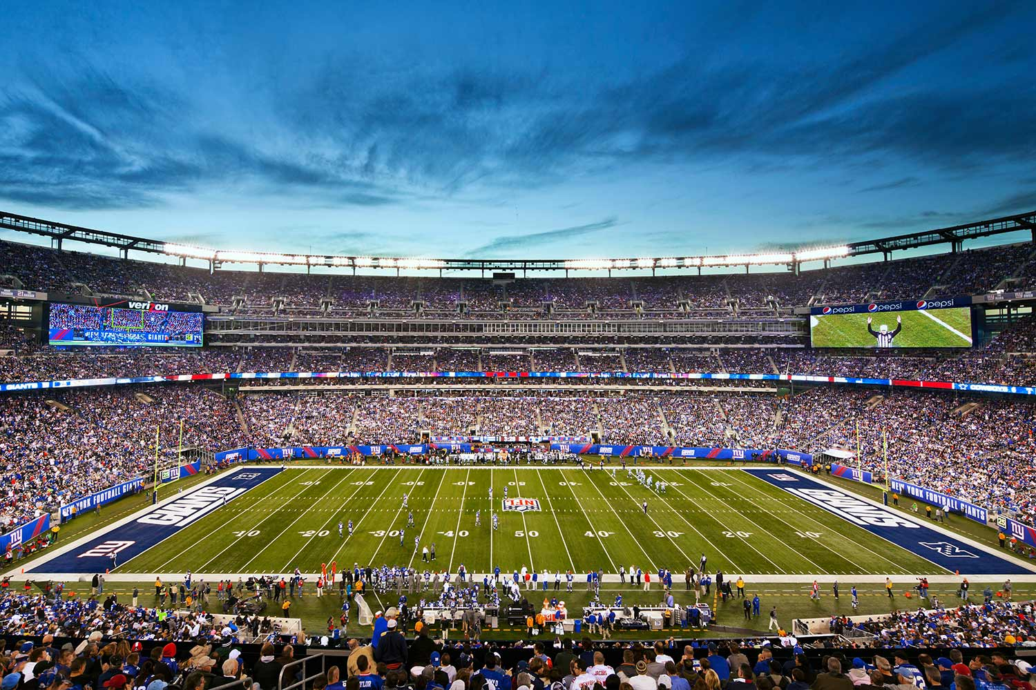 Survivor at Every Stadium: New York Giants
