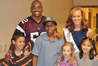 Asthma Control Everyday Video Shoot with 2010 Miss Missouri Erika Hebron