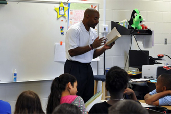 National Childrens Book Week at Norcross Elementary in Atlanta