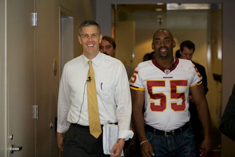 Let's Read, Let's Move with U.S. Secretary of Education Arne Duncan