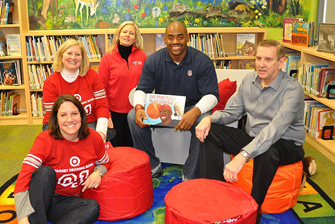 Super Bowl XLV: Target Library Makeover Event