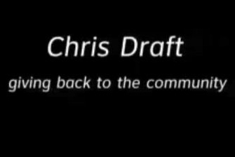 Chris Draft: Giving Back to the Community